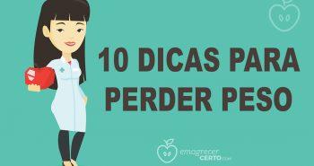 10 dicas para perder peso