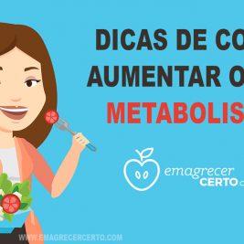 aumentar o metabolismo