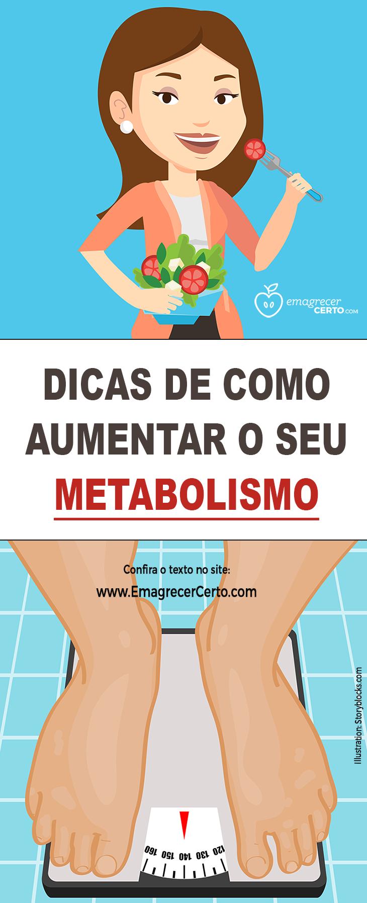 Como aumentar o seu metabolismo