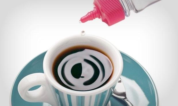 cafe engorda adocante
