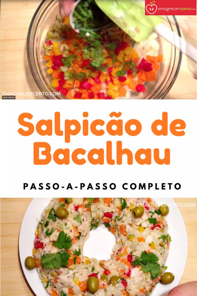 Salpicão de Bacalhau Fácil e delicioso
