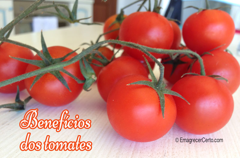 beneficios do tomate