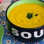 sopa de laranja