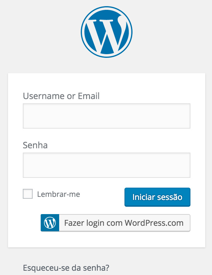 blog no wordpress