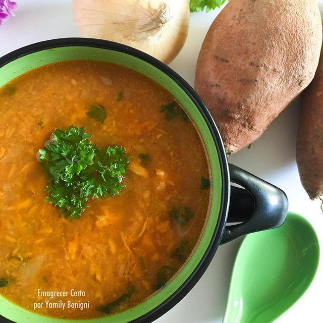 sopa termogenica batata-doce