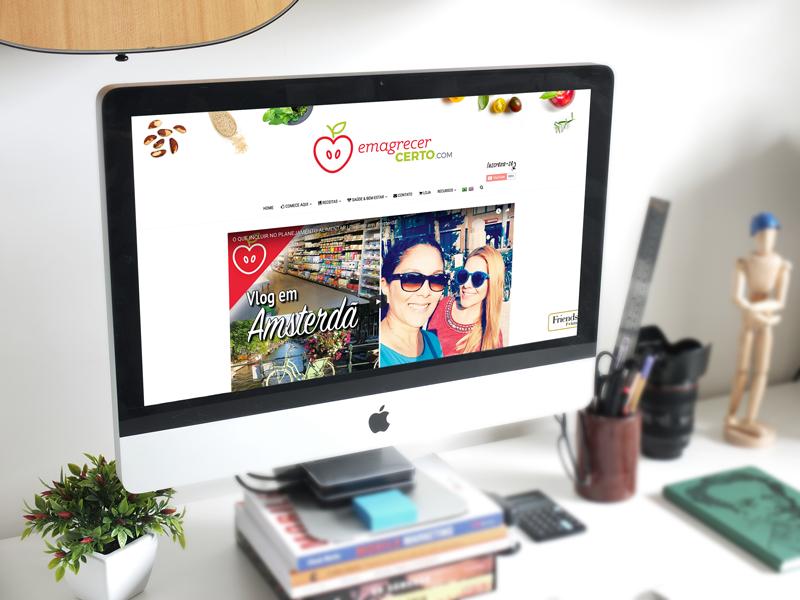 blog emagrecer certo novo design