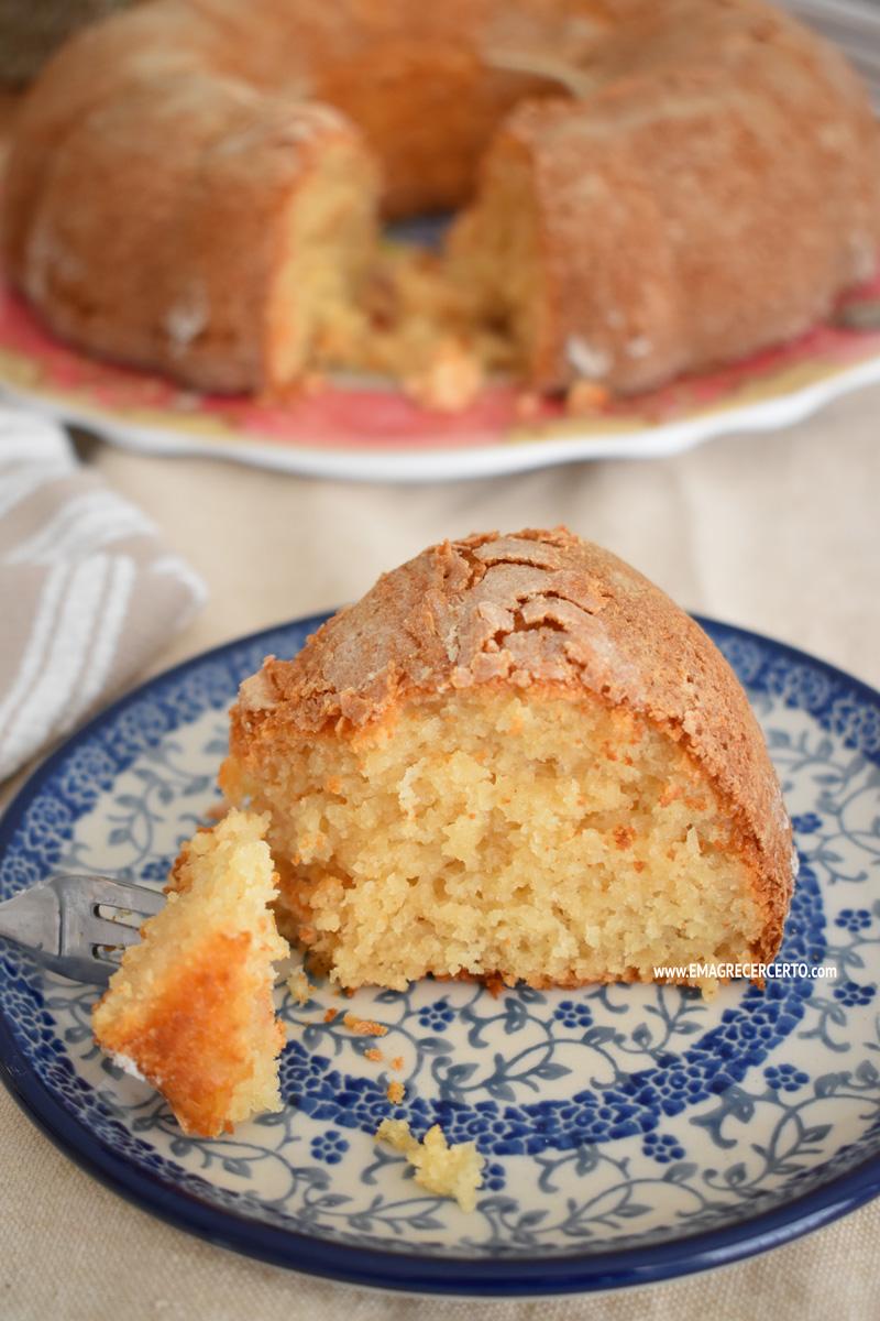 bolo de iogurte sem gluten blog EmagrecerCerto.com