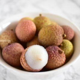 fruta lichia