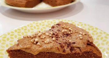 bolo de amendoim com canela